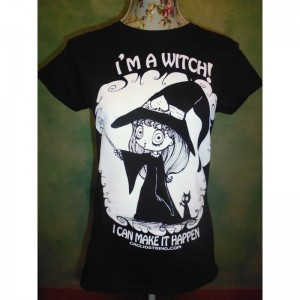 "T-shirt T-shirt Samaina ""I'm a Witch"""