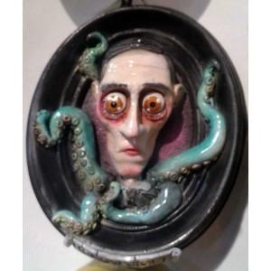 Quadri 3D H.P. Lovecraft con tentacoli Cthulhu Quadro 3D
