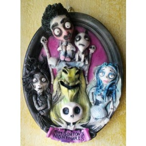 Quadri 3D Tim Burton's Nightmares Quadro 3D