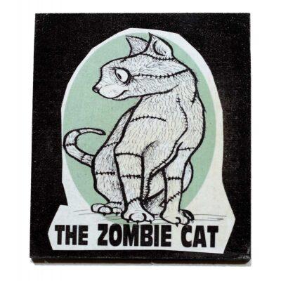 Calamita di un Gatto Zombie