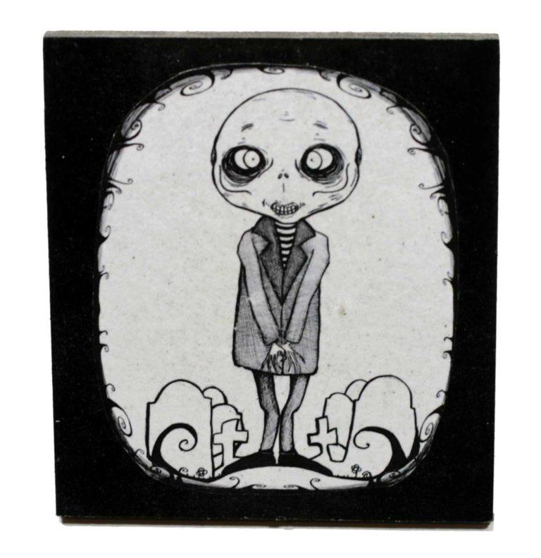 Calamita Zombie del piccolo Biglia