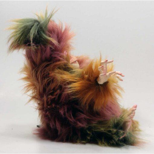 Peluche del Folletto Linchetto con pelliccia multicolor