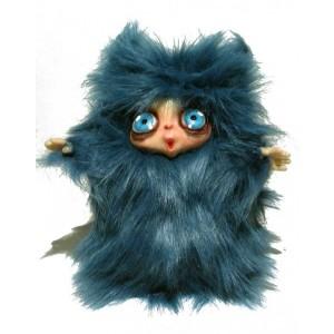 Peluche Peluche MicioMicio il Folletto che si traveste da gatto blu con occhi azzurri