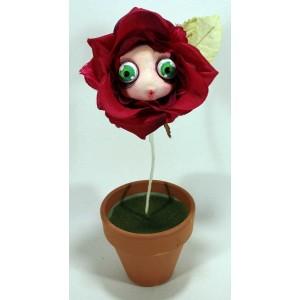 Fiori Mangia Cattivi Pensieri Fiore Mangia-Cattivi-Pensieri rosa rossa con viso dolce