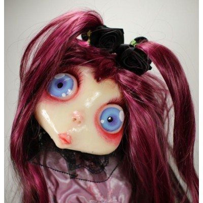 burattini Gothic Doll Puppet: Burattino Rosalyn