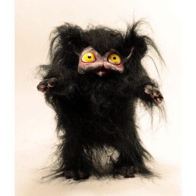 Peluche Peluche del gatto nero Cagliostrino con occhi gialli