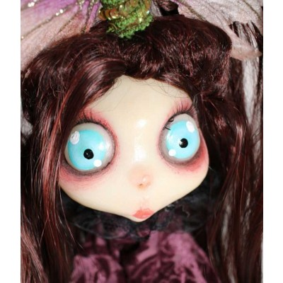 burattini Gothic Doll Puppet: Burattino Madama Butterfly