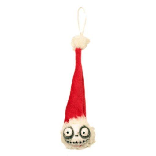 Teschietto Natalizio da appendere all'albero di Natale