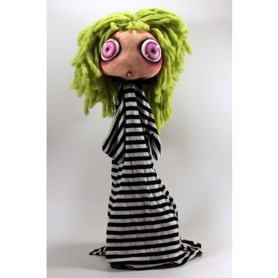 burattini Burattino Vampira piccola capelli verdi