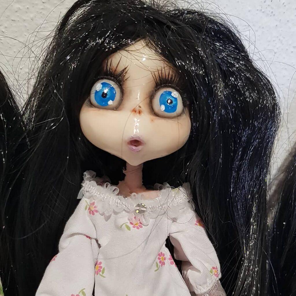 instablog Lucilla, ma se continua a piovere così, come vi muovete nei vostri cunicoli sott... cagliostrino dolcementetenebroso dollart dollartistry dollhead dollmaker dolls instadolls Lucilla polimerclay prosculpt