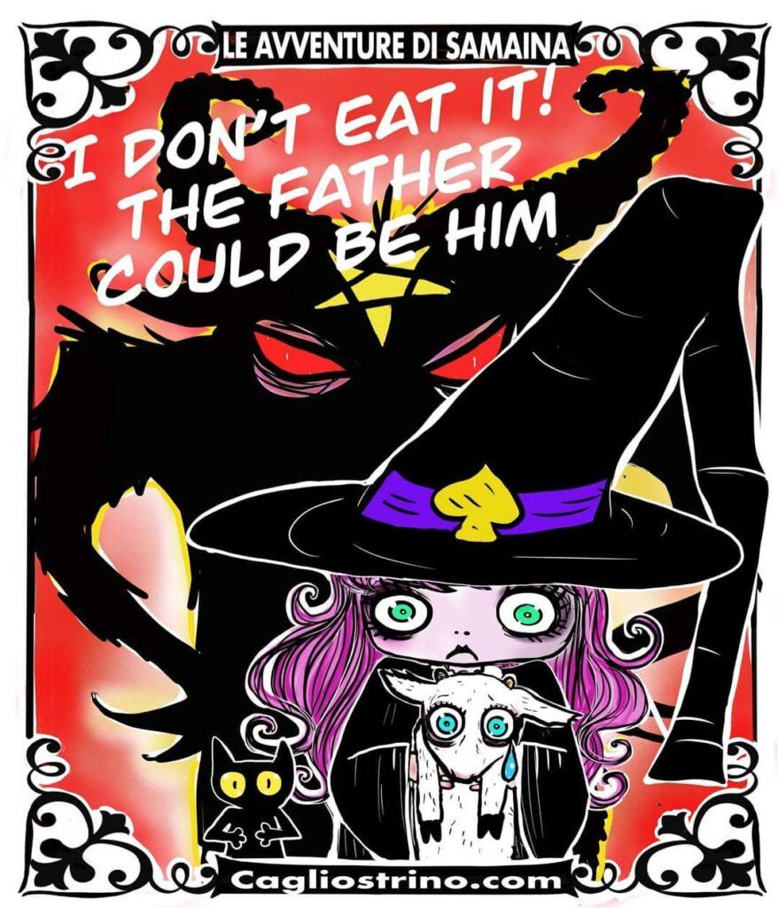 instablog Io non lo mangio! Il padre potrebbe essere lui... ... agnellopasquale animals bruja buonapasqua cagliostrino devil easter happyeaster leavventuredisamaina luccacomicsandgames serenapieruccini strega streghe vegan veganfood vegetarian vegetariano wicca wiccan witch witchcraft witchesofinstagram witchesofinstagram🔮🌙