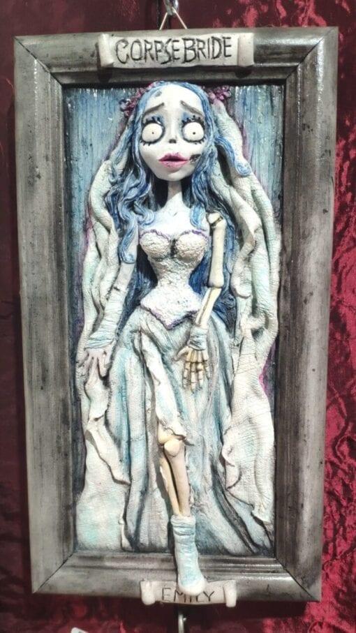 Sposa Cadavere Tim Burton Quadro 3D